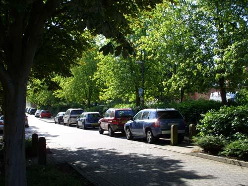 Two Mile Ash village centre