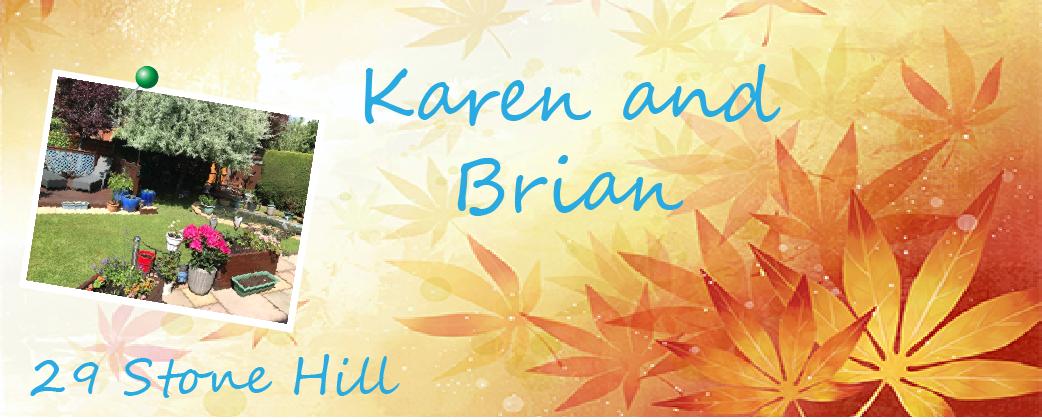 A garden by Karen and Brian